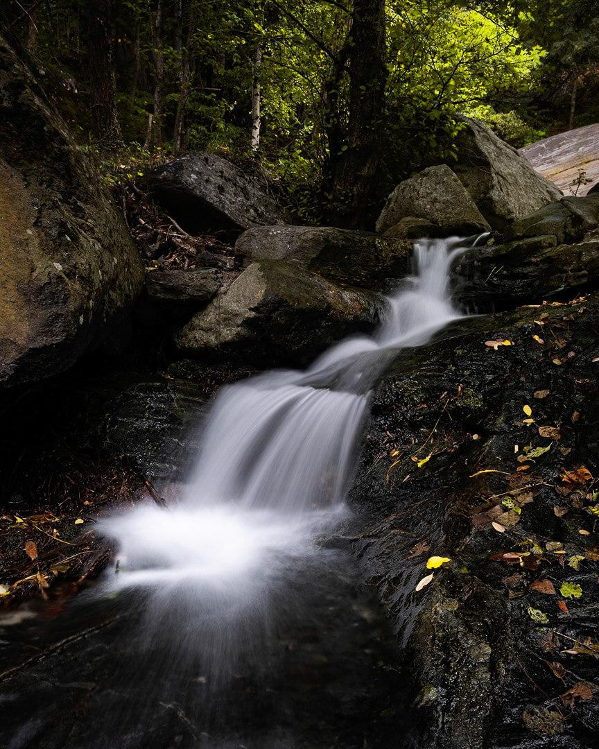 Acquafraggia Waterfall - Italy