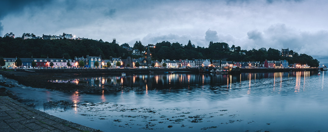 Night in Tobermory - Scotland