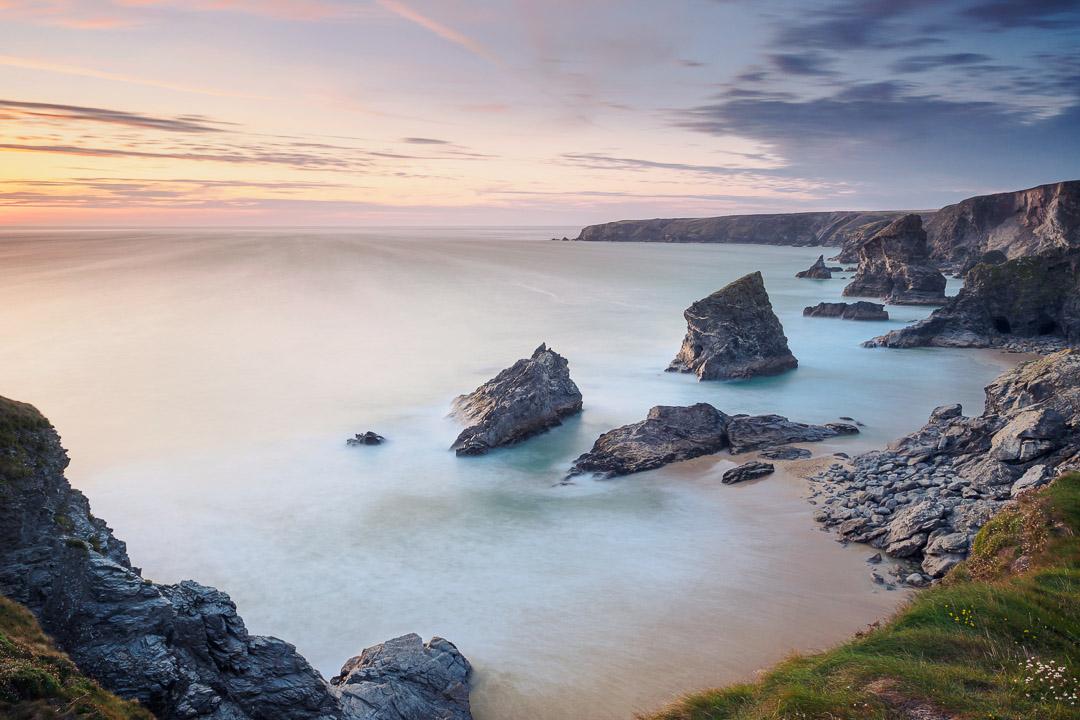 Bedruthan Steps - Cornwall U.K.