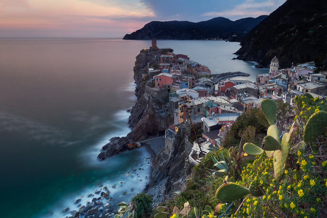 Sunset in Vernazza - Italy