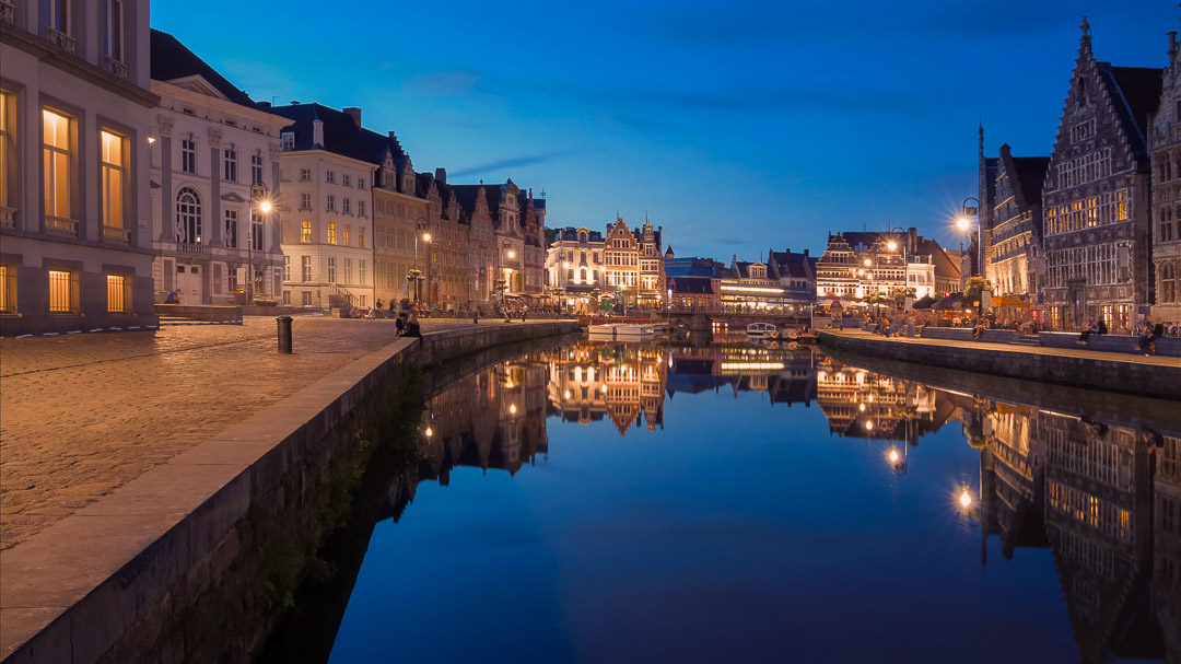 Ghent by night - Belgium