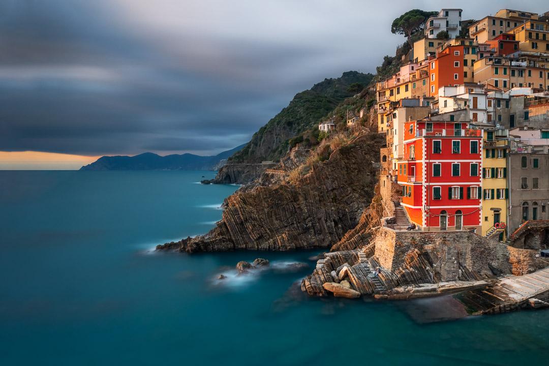 Riomaggiore kissed by the sun - Italy